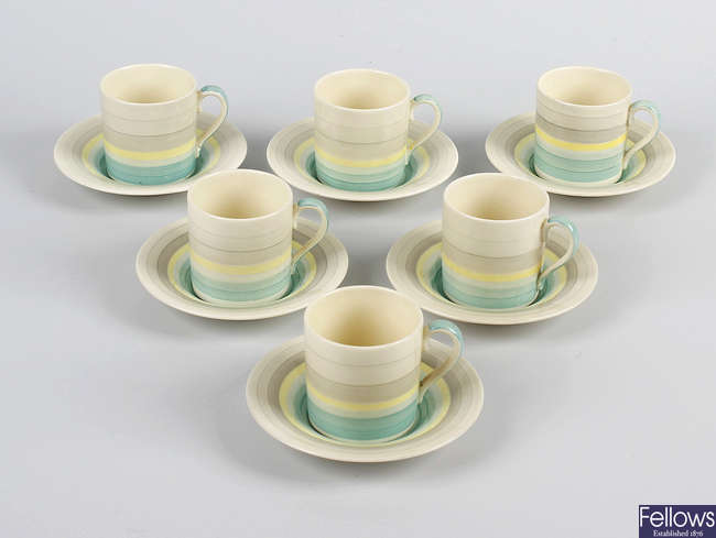 A Susie Cooper coffee set