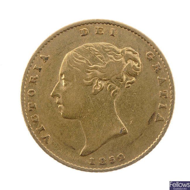 Victoria, Half-Sovereign 1852 (S 3859).