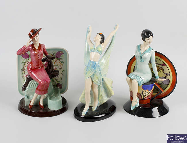Kevin Francis limited edition figurines