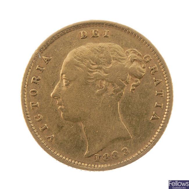 Victoria, Half-Sovereign 1883.