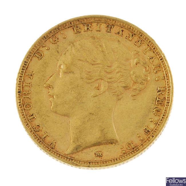 Victoria Sovereign 1886M.