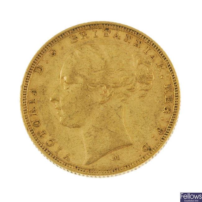 Victoria, Sovereign 1882M.