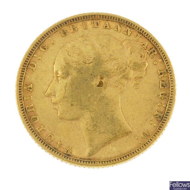 Victoria, Sovereign 1872.