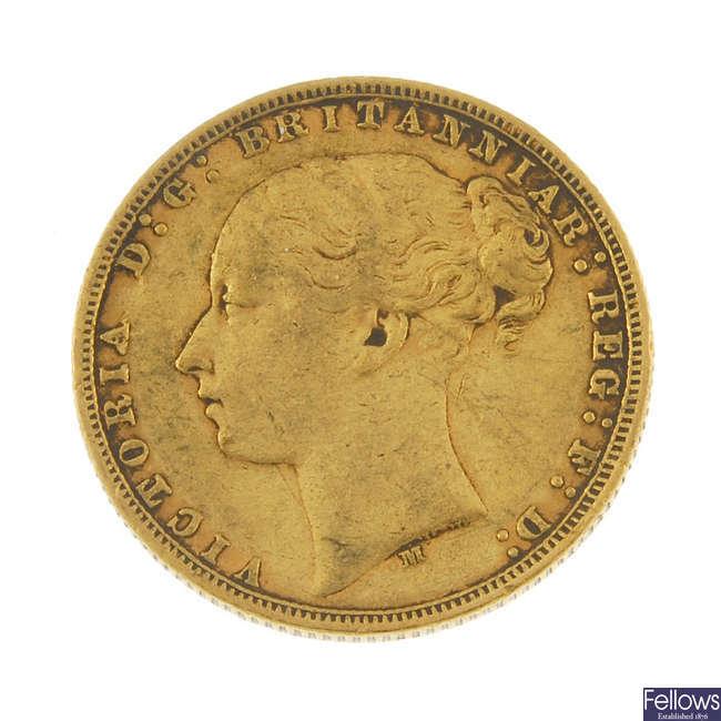 Victoria, Sovereign 1873M.