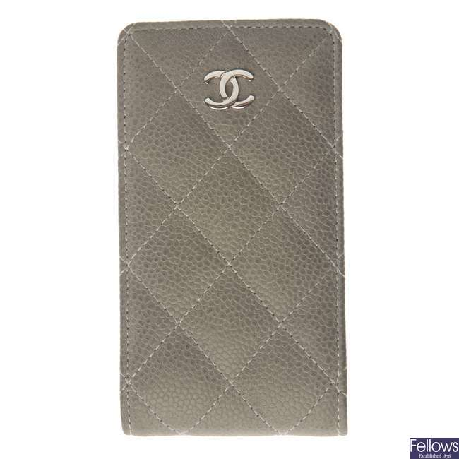 CHANEL - a phone case.