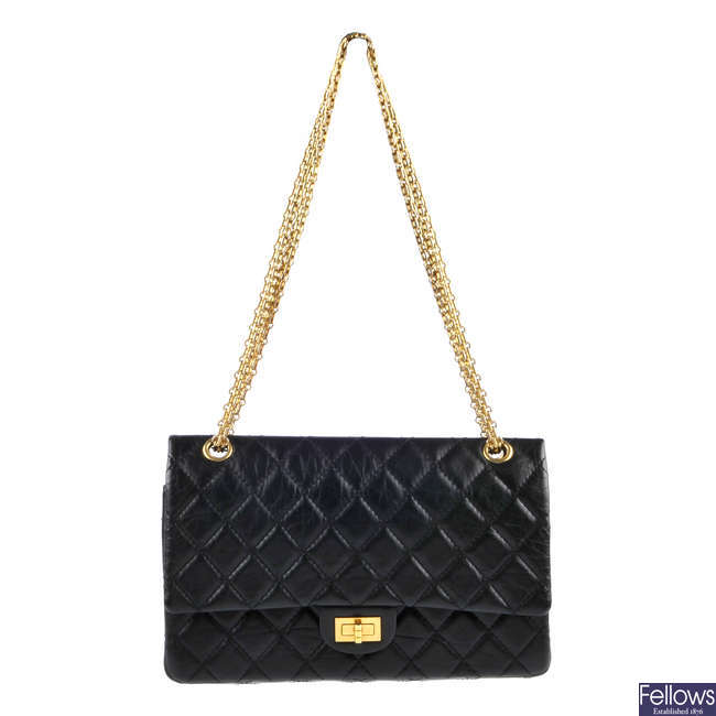 CHANEL - a Reissue Quilted Classic Flap handbag.