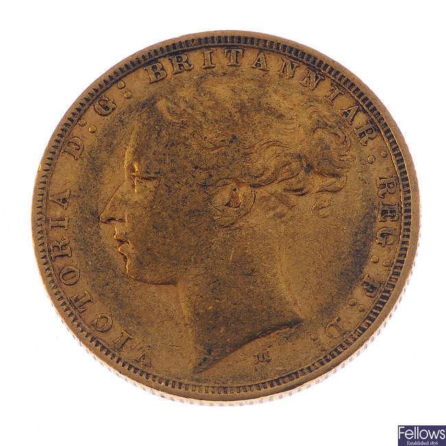 Victoria, Sovereign 1880M.