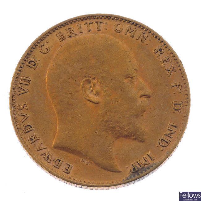 Edward VII, Sovereign 1903.