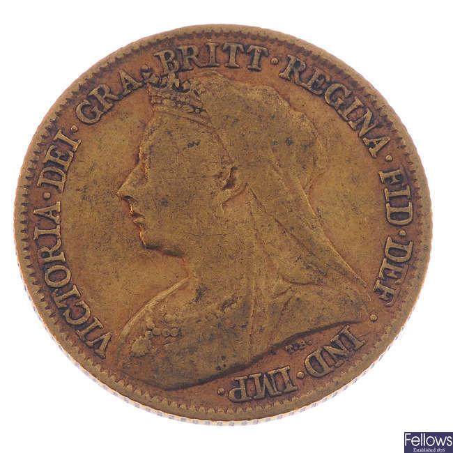 Victoria, Half-Sovereign 1895.