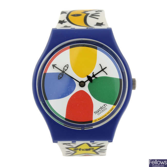 SWATCH - a Space People watch.