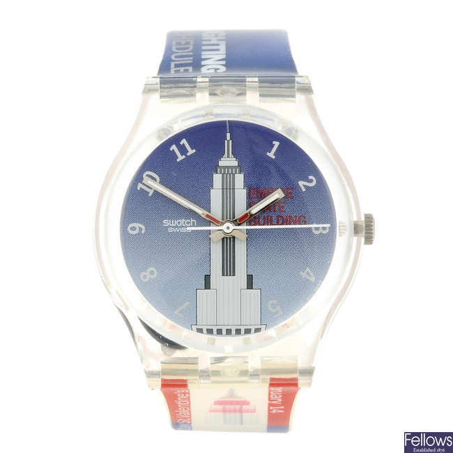 SWATCH - a Empire State watch.