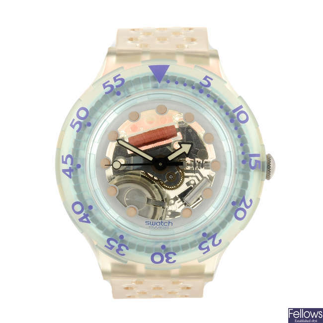 SWATCH - a Jelly Bubbles watch.