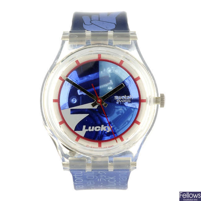 SWATCH - a Lucky 7 watch.