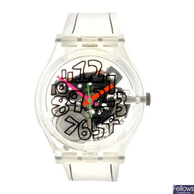 SWATCH - a Scribble watch.