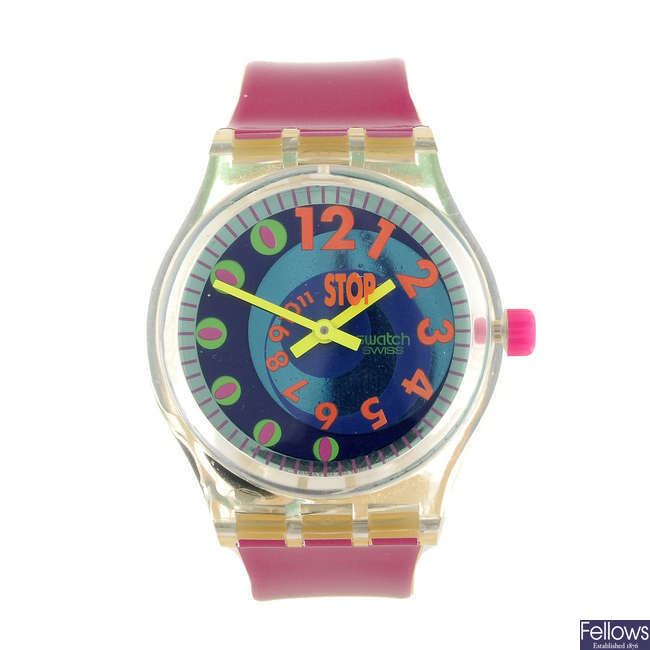 SWATCH - a Le Walk - Andale watch.