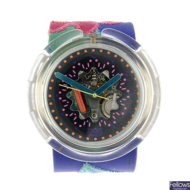 SWATCH - a Veruschka watch.