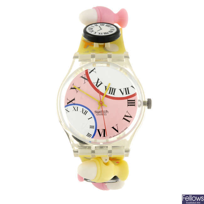 SWATCH - an Eggsdream watch.