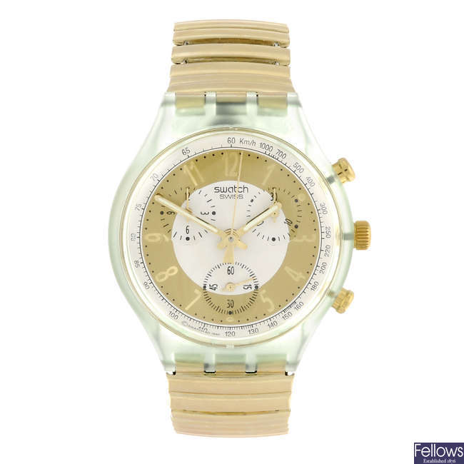 SWATCH - a Golden Globe watch.