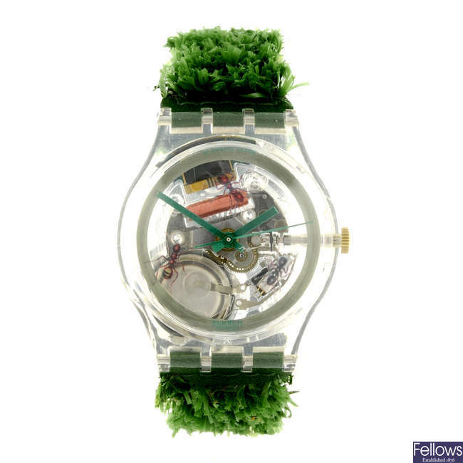 SWATCH - a Garden Turf watch.