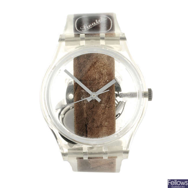 SWATCH - a Cigar watch.