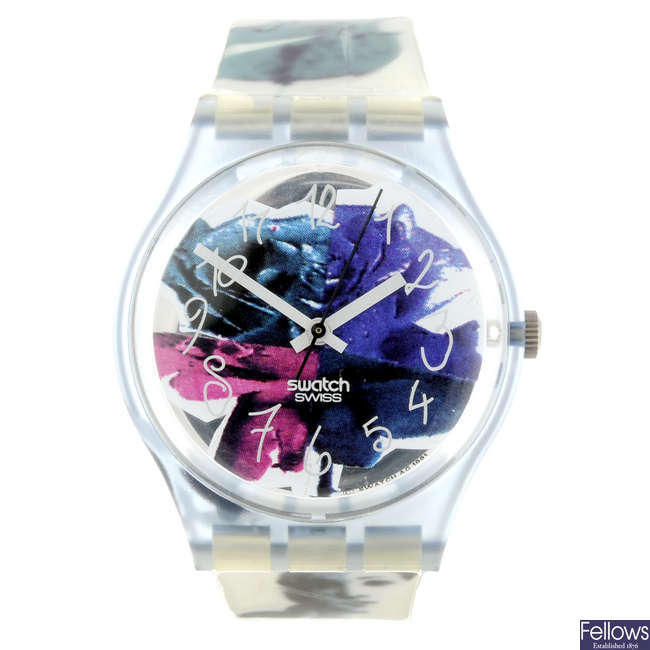 SWATCH - a Photoshooting watch.