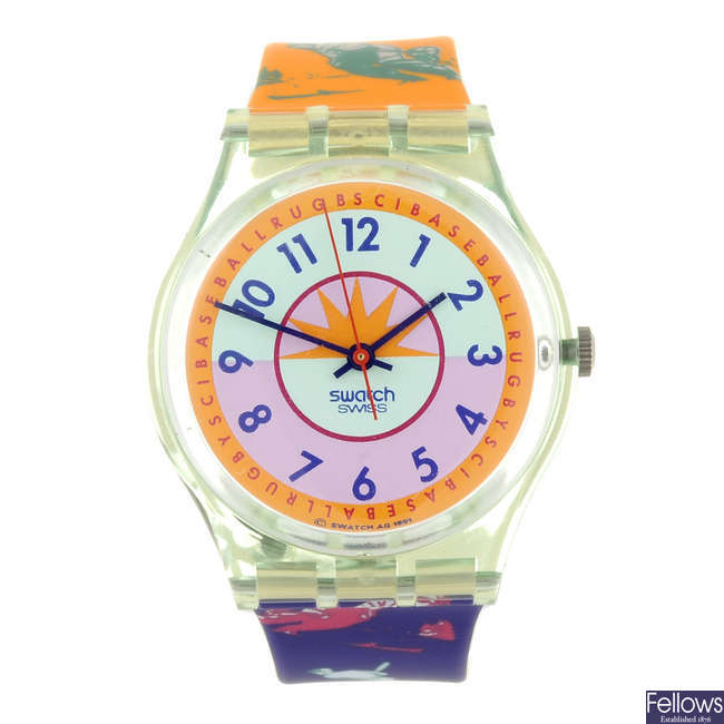 SWATCH - a Curling watch.