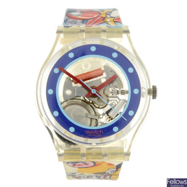 SWATCH - a Tin Toy watch.