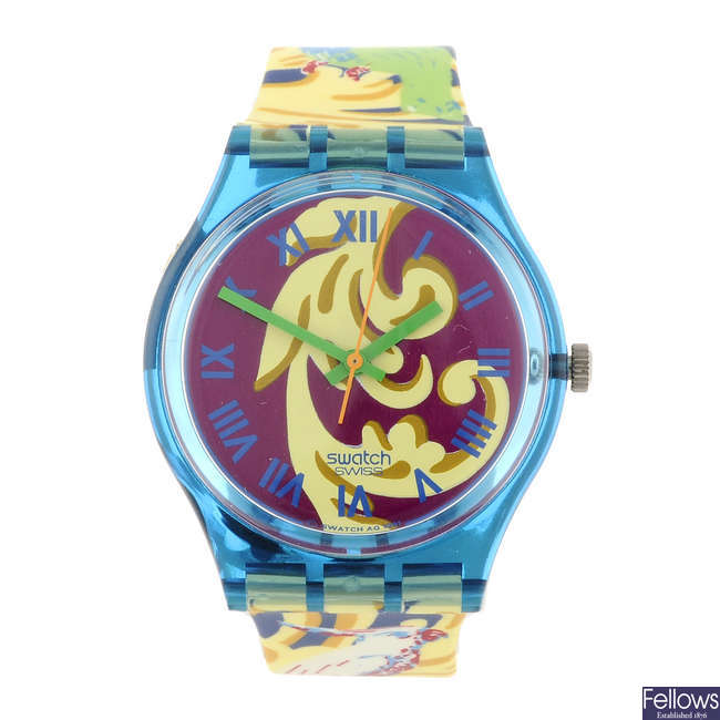 SWATCH - a Perroquet watch.