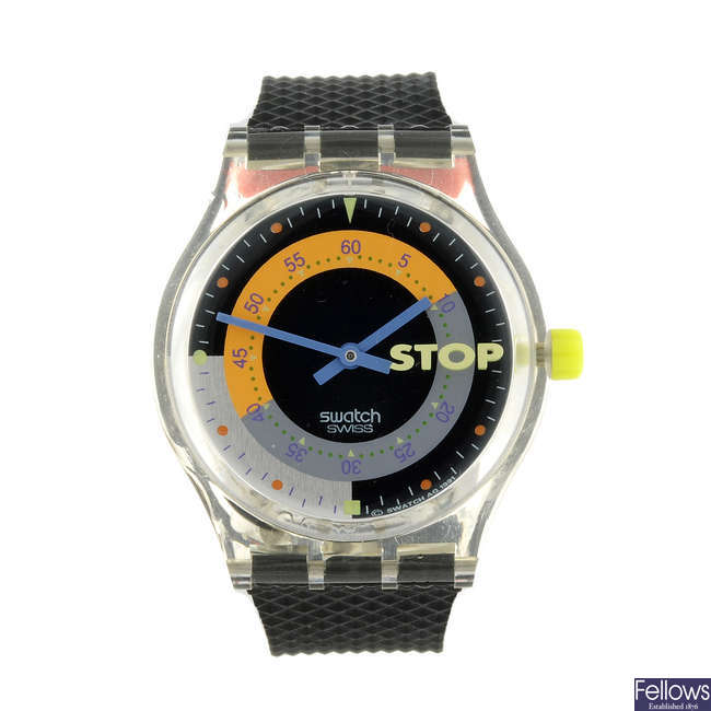 SWATCH - a Coffeebreak watch.