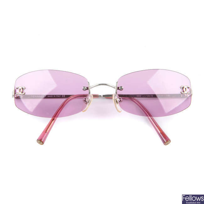 CHANEL - a pair of sunglasses.