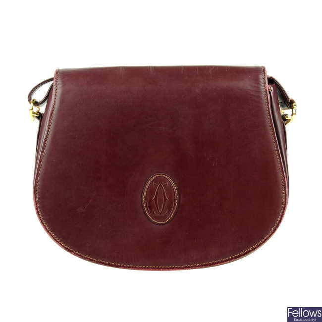 CARTIER - a Must De Cartier crossbody handbag.