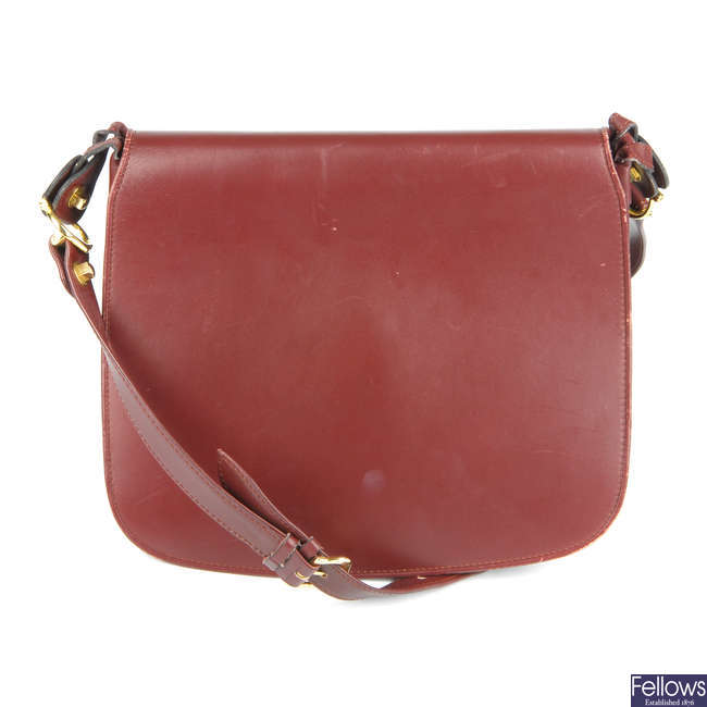 CARTIER - a Must De Cartier crossbody handbag.