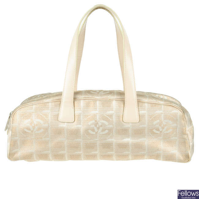 CHANEL - a Travel Line handbag.