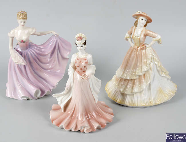 A group of figurines.