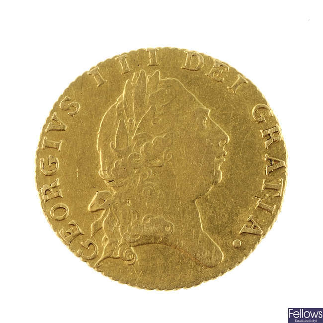 George III, Half-Guinea 1796 (S 3735).