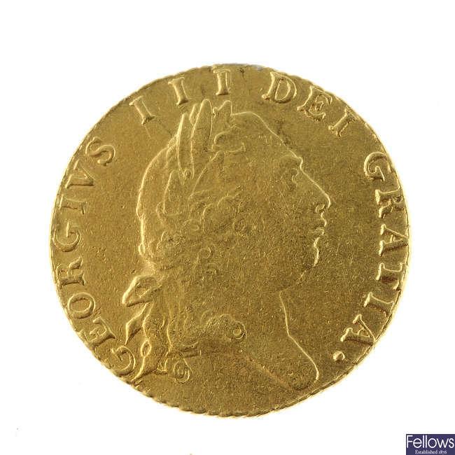 George III, Half-Guinea 1797 (S 3735).