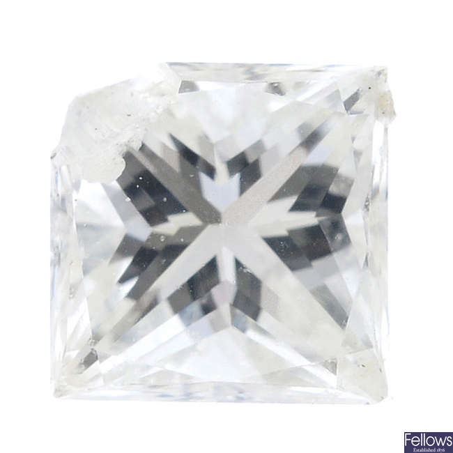 A selection of vari-shape diamonds, total weight 1.42cts.