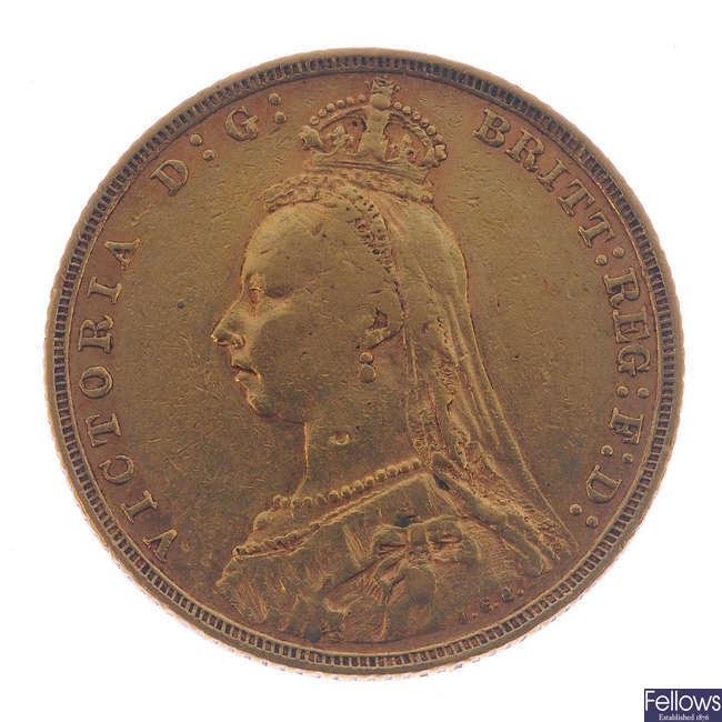 Victoria, Sovereign 1893M