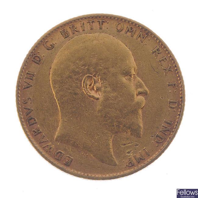 Edward VII, Sovereign 1904.