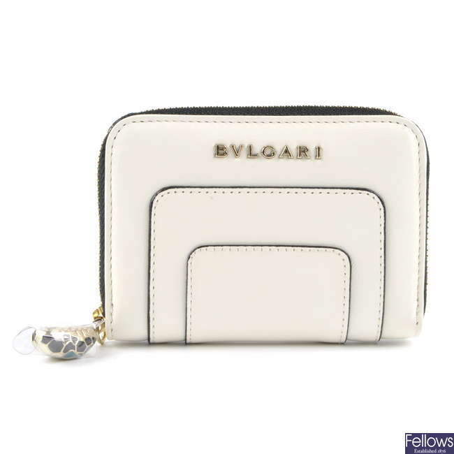 BULGARI - a Serpenti coin purse.