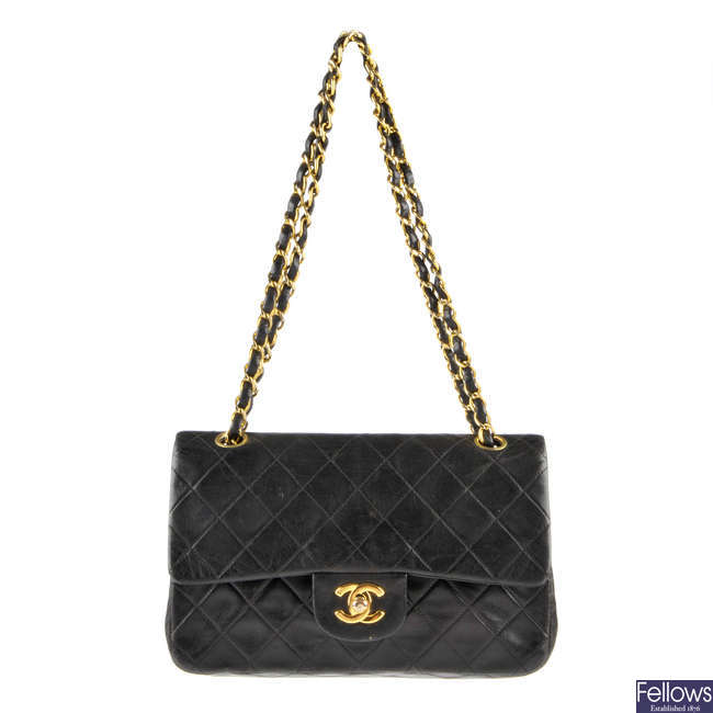 CHANEL - a Small Classic Double Flap handbag.