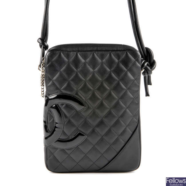 CHANEL - a Ligne Cambon shoulder bag.