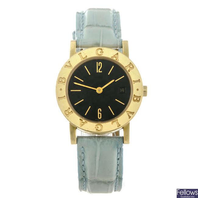 BULGARI - a lady's Bulgari wrist watch.