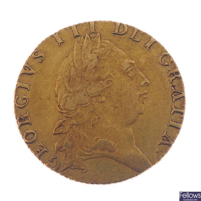 George III, Guinea 1791.